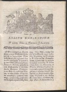 Gazeta Warszawska. R.1785 Nr 29