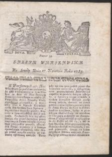 Gazeta Warszawska. R.1785 Nr 34