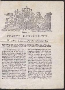 Gazeta Warszawska. R.1785 Nr 35