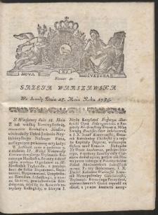 Gazeta Warszawska. R.1785 nr 40