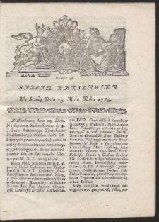 Gazeta Warszawska. R.1785 Nr 42