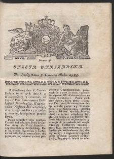 Gazeta Warszawska. R.1785 Nr 46