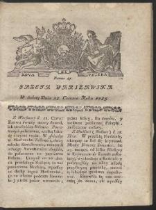 Gazeta Warszawska. R.1785 Nr 49