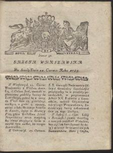 Gazeta Warszawska. R.1785 Nr 50