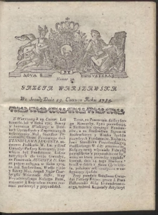 Gazeta Warszawska. R.1785 Nr 52