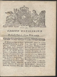 Gazeta Warszawska. R.1785 Nr 54