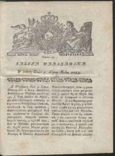 Gazeta Warszawska. R.1785 Nr 55