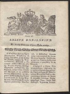 Gazeta Warszawska. R.1785 Nr 56
