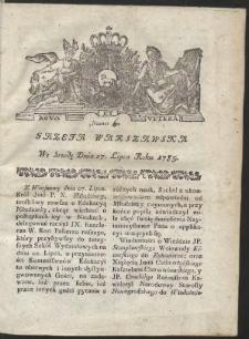 Gazeta Warszawska. R.1785 Nr 60