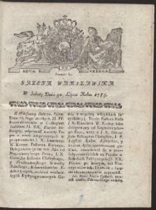 Gazeta Warszawska. R.1785 Nr 61