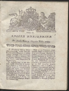 Gazeta Warszawska. R.1785 Nr 62