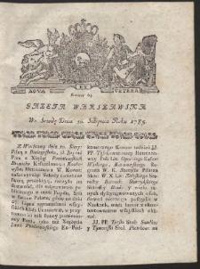 Gazeta Warszawska. R.1785 Nr 64