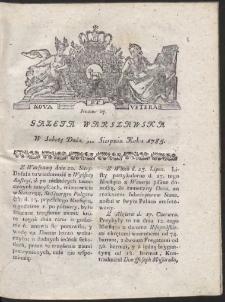 Gazeta Warszawska. R.1785 Nr 67