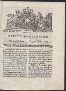 Gazeta Warszawska. R.1785 Nr 68