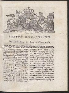 Gazeta Warszawska. R.1785 Nr 70
