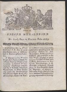Gazeta Warszawska. R.1785 Nr 74