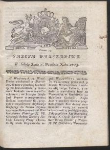 Gazeta Warszawska. R.1785 Nr 75