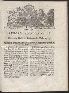 Gazeta Warszawska. R.1785 Nr 80