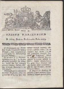 Gazeta Warszawska. R.1785 Nr 87