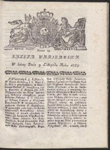 Gazeta Warszawska. R.1785 Nr 89