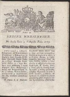 Gazeta Warszawska. R.1785 Nr 90