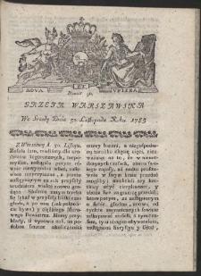 Gazeta Warszawska. R.1785 Nr 96