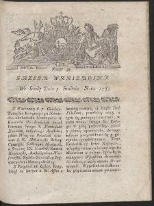 Gazeta Warszawska. R.1785 Nr 98