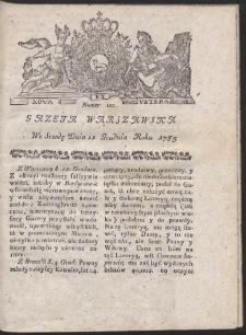 Gazeta Warszawska. R.1785 Nr 102