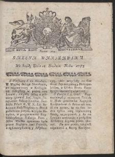Gazeta Warszawska. R.1785 Nr 104