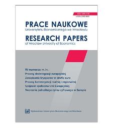 Spis treści [Prace Naukowe Uniwersytetu Ekonomicznego we Wrocławiu = Research Papers of Wrocław University of Economics; 2011; Nr 172]