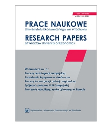 Spis treści [Prace Naukowe Uniwersytetu Ekonomicznego we Wrocławiu = Research Papers of Wrocław University of Economics; 2011; Nr 171]