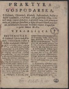 Kalendarz Polski y Ruski Na Rok […] 1764 […] / Przez […] Stanisława z Łazów Dunczewskiego […] Wyrachowany