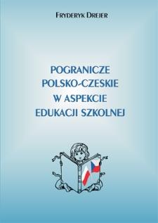 Pogranicze polsko-czeskie w aspekcie edukacji szkolnej