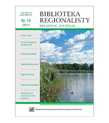 Entrepreneurship and competitiveness of subregions. The case of the Wielkopolska region in Poland