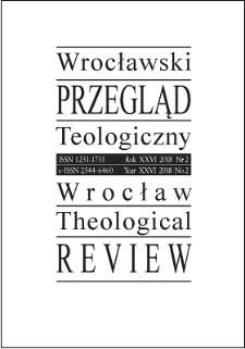 Wrocławski Przegląd Teologiczny. R. 26 (2018), nr 2