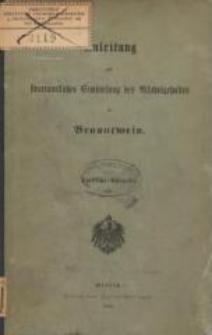Anleitung zur steueramtlichen Ermittelung des Alkoholgehaltes im Branntwein : amtliche Ausgabe