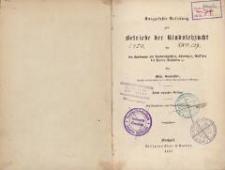 Kurzgefaßte Anleitung zum Betriebe der Rindviehzucht : für den Landmann als Rindviehzüchter, Thierärzte, Aufseher bei Farrenanstalten etc. - 3. verm. Aufl.