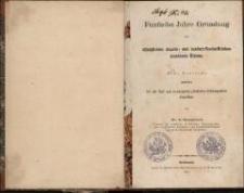 Funfzehn Jahre Gründung der königlichen staats- und landwirtschaftlichen Academie Eldena : eine Festrede gehalten bei der fünf und zwanzigsten jährlichen Stiftungsfeier derselben