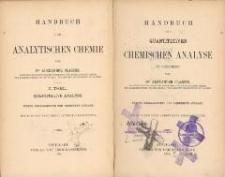 Handbuch der quantitativen chemischen Analyse in Beispielen / |c von Alexander Classen. - 5., umgearb. und verm. Aufl.