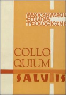 Colloquium Salutis : wrocławskie studia teologiczne. 10 (1978)