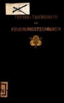Taschenbuch für Feuerungstechniker : Anleitung zur Untersuchung und Beurteilung von Brennstoffen und Feuerungsanlagen. - 5., umgearb. Aufl.