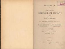 Lehrbuch der speciellen Pathologie und Therapie der Hausthiere : für Tierärzte, Ärzte und Studierende. Bd 2. - 4., verb. u. verm. Aufl.