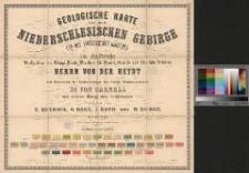 Geologische Karte von dem Niederschlesischen Gebirge und den angrenzenden Gegenden. Bl. 8. Section: Reinerz