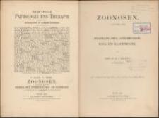 Zoonosen. Abt. 1, Milzbrand, Rotz, Actinomykosis, Maul- und Klausenseuche