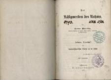 Das Käsigwerden des Rahms : gekrönte Preisschrift des Landwirthschaftlichen Vereins an der Schlei