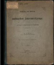 Beschreibung und Abbildung der nutzbarsten Ackerwerkzeuge