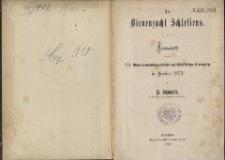 Die Bienenzucht Schlesiens : Festschrift für die XXI. Wanderversammlung deutscher und österreichischer Bienenwirthe in Breslau 1876