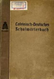 Stowassers lateinisch-deutsches Schul- und Handwörterbuch. - 4. verbess. Aufl.