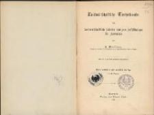 Landwirtschaftliche Tierheilkunde : für landwirtschaftliche Schulen und zum Selbststudium für Landwirte. - 4., verbesserte und vermehrte Auflage