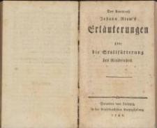 Des Amtsrath Johann Riem's Erläuterungen über die Stallfütterung des Rindviehes